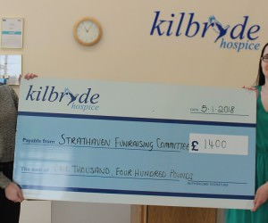 Strathaven Fundraising Committee raise £1,400!