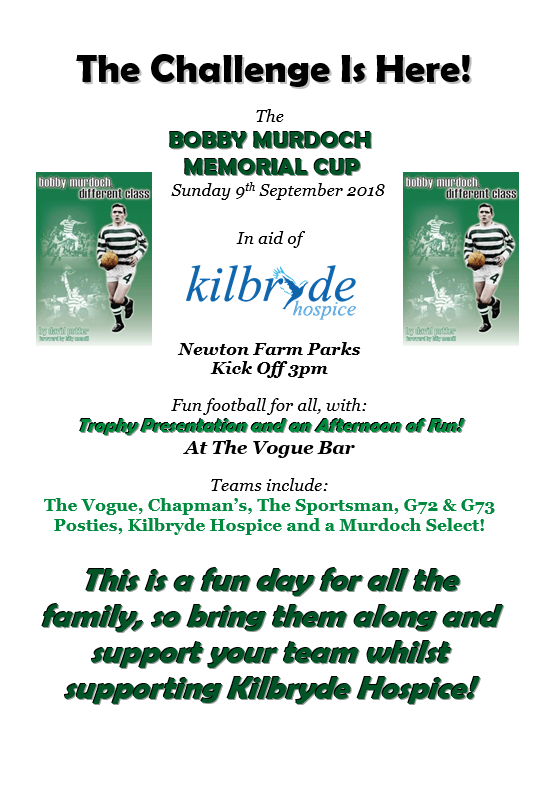 Bobby Murdoch Memorial Cup 17/18