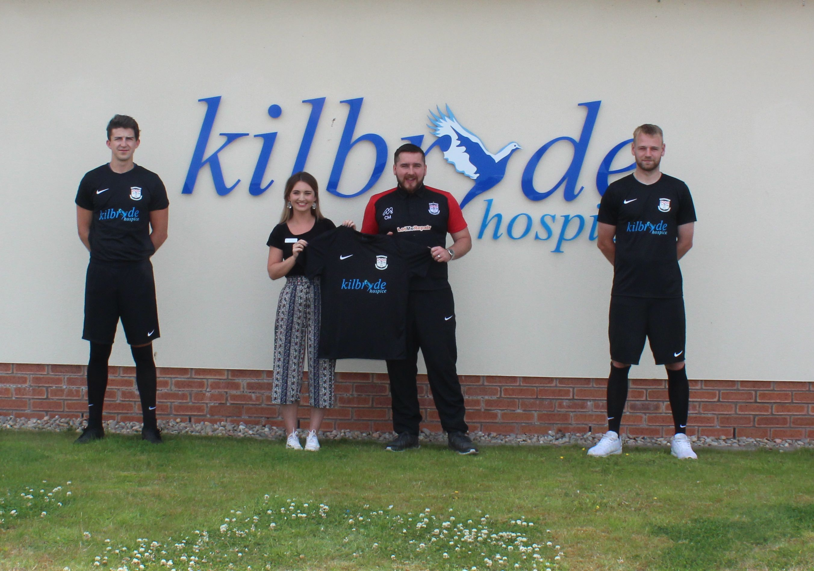EK Thistle Amateurs reveal their new charity kit sponsor