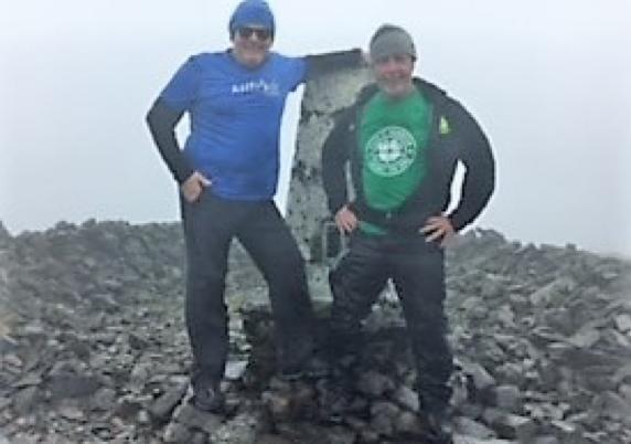 WHW training The Merrick Climb