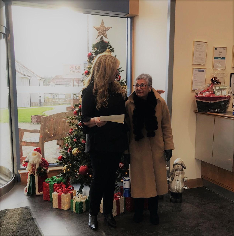 Maureen's stall reaches £50,000 mark!