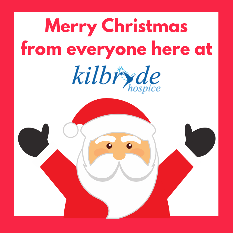 Kilbryde Hospice Christmas and New Year Opening hours