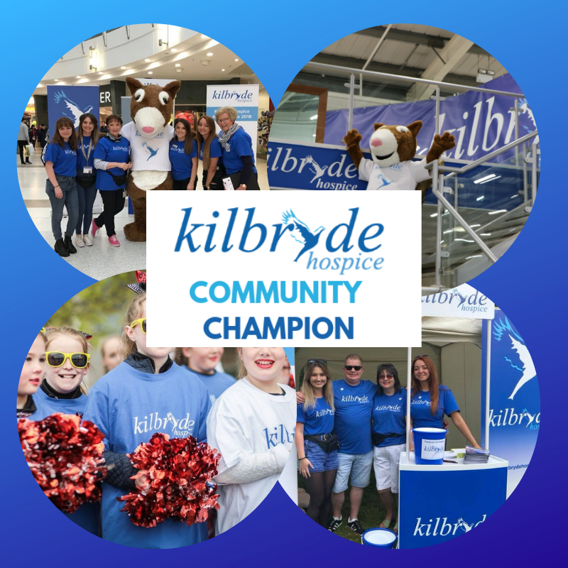 Kilbryde Community Champion and Hope's Heroes