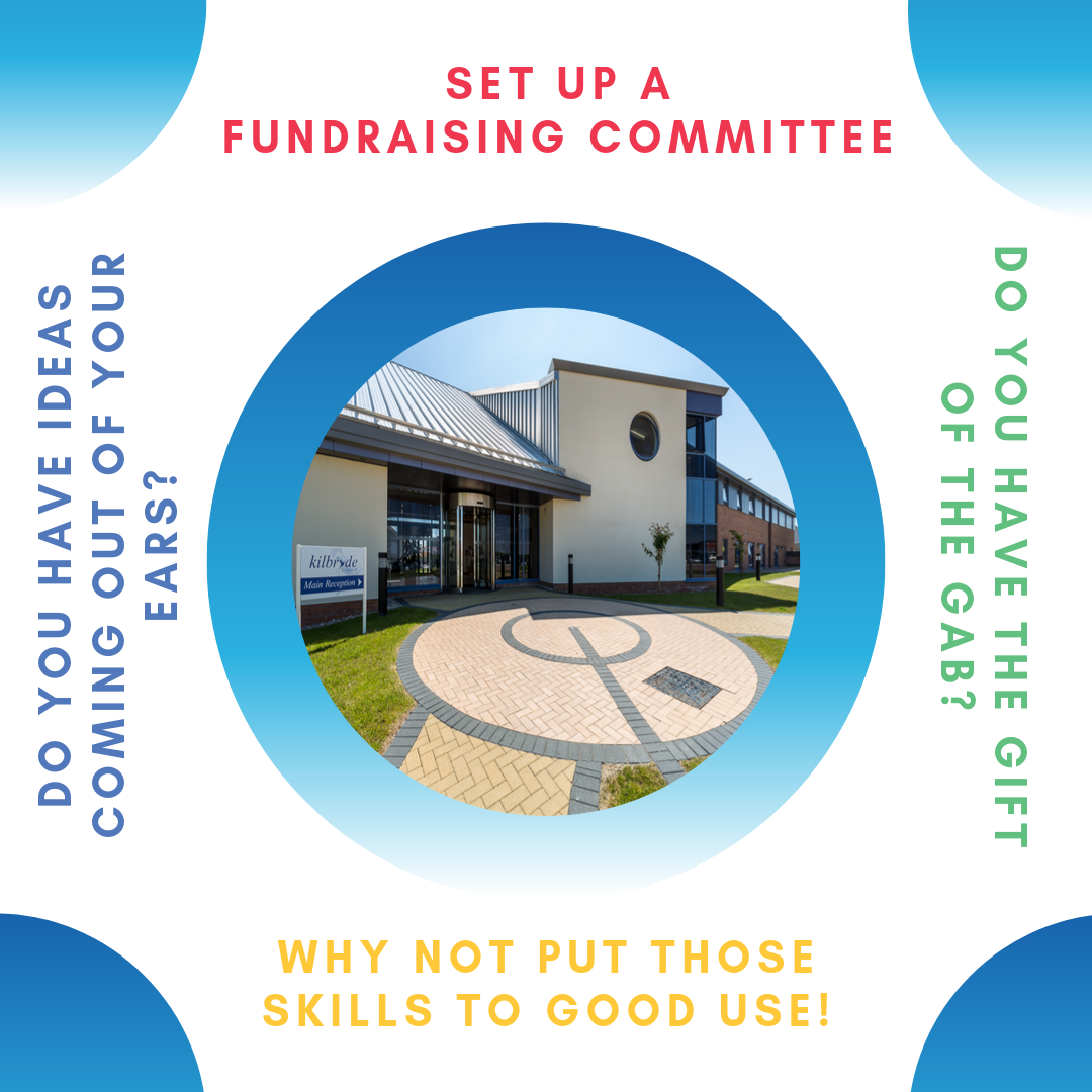 Could you use your skills to set up a new local fundraising committee?