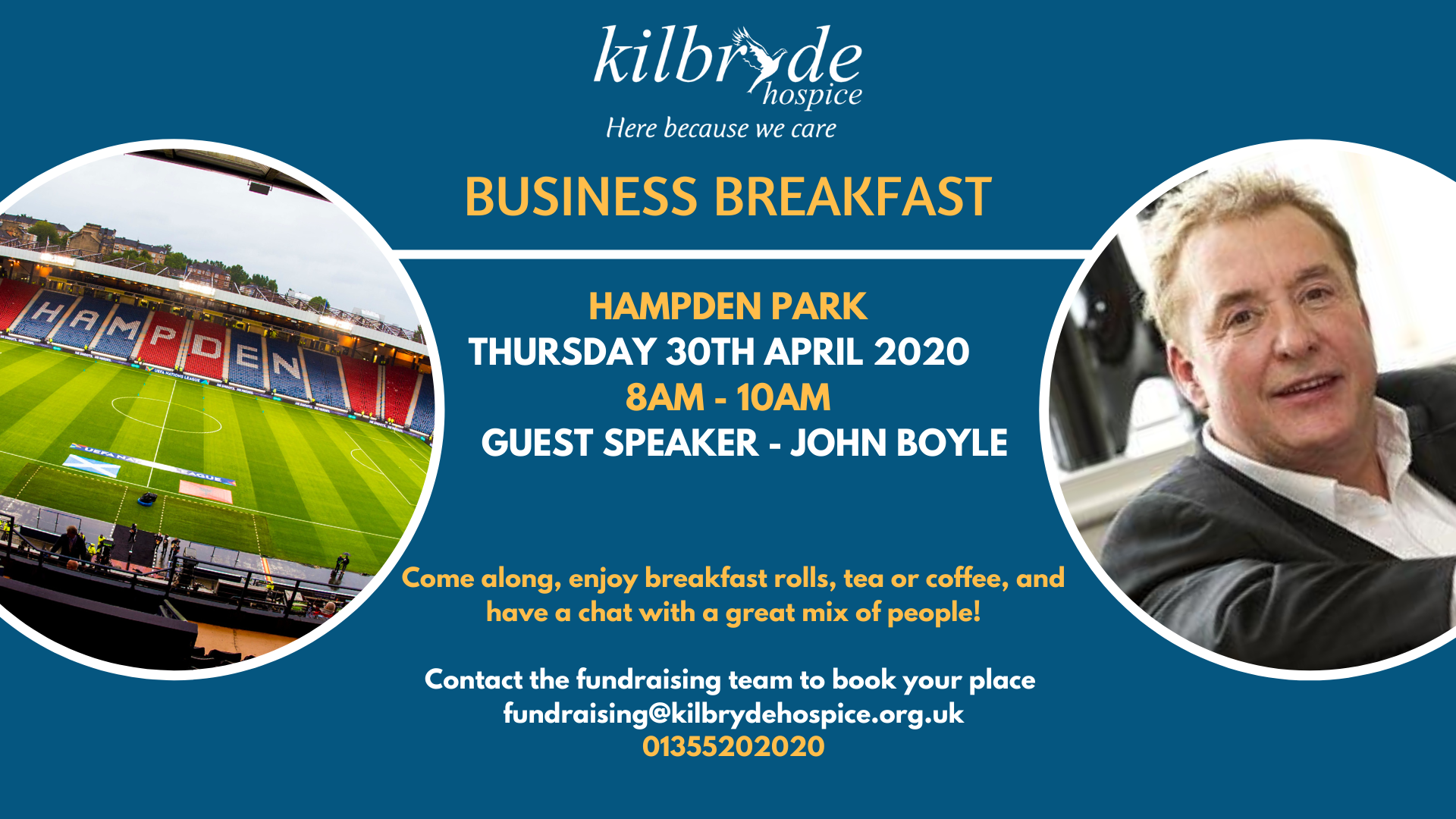 Business Breakfast Guest Speaker Announcement