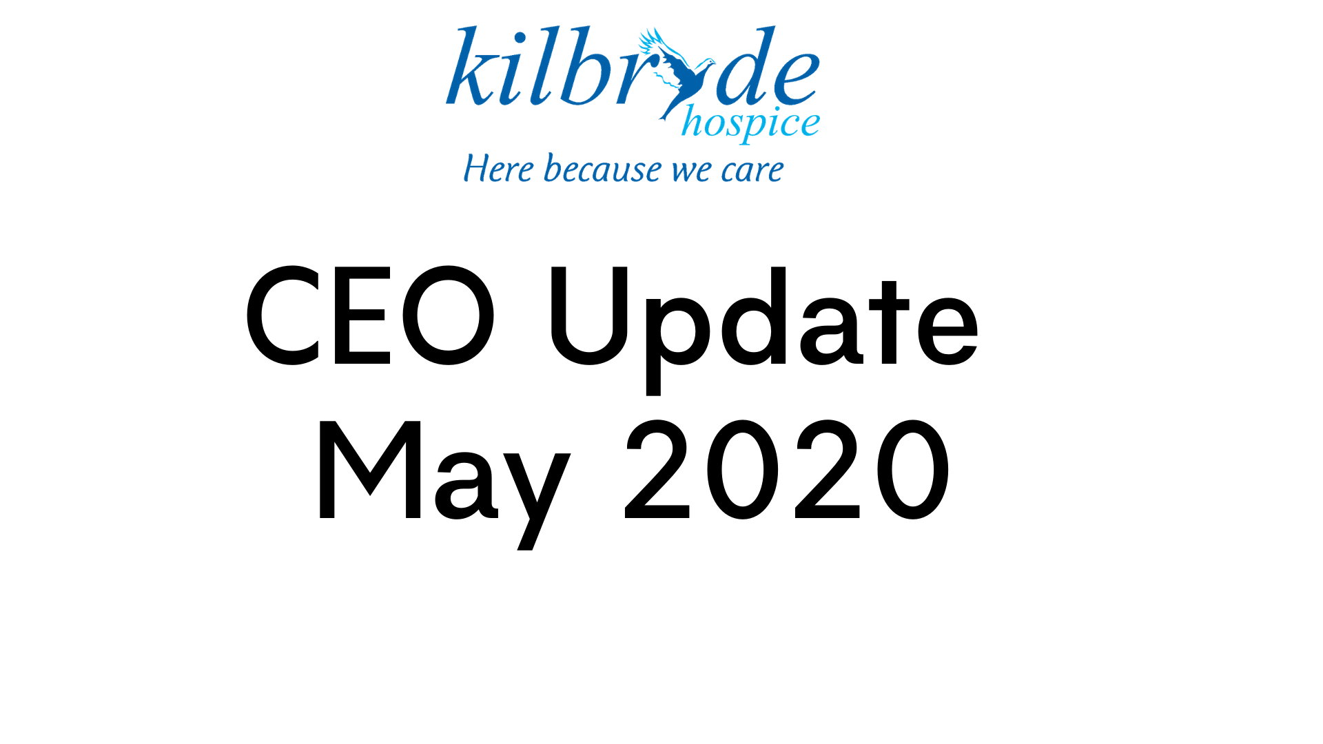 CEO Update – May 2020