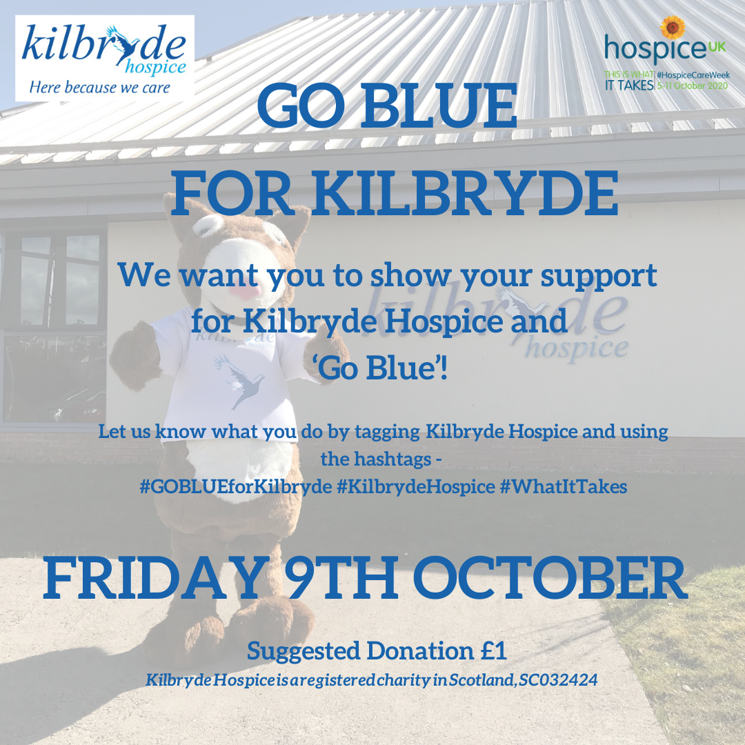 GO BLUE for Kilbryde!