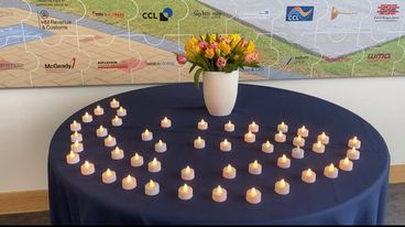 Kilbryde Hospice staff mark National Day of Reflection 💙