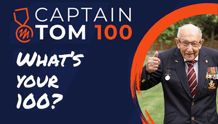 #CaptainTom100