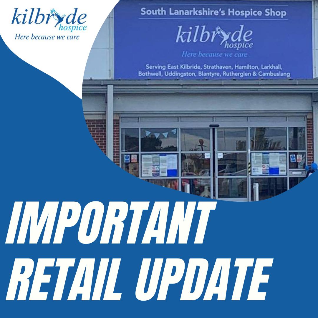 Important Retail Update