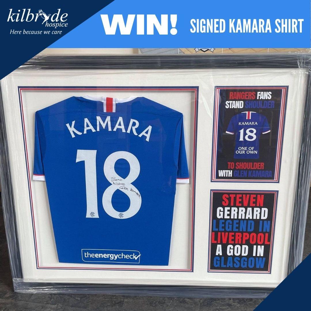 WIN! A Signed Glen Kamara Shirt!